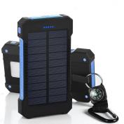 300000mAh Dual USB Portable Solar Battery Charger Solar Power Bank For Phone
