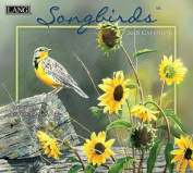 Songbirds 2018 Wall Calendar