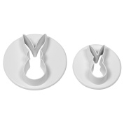 PME Rabbit Cutters, Small, Large Sizes, Set of 2