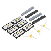 LandFox Side Brush Filter Extractor Replenishment Kit For irobot Roomba 800 870 880 980