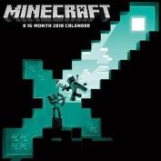 2018 Minecraft Wall Calendar