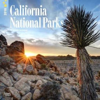 2018 California National Parks Wall Calendar