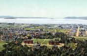 1898-05 Golden Gate from Berkeley Heights Vintage Photograph 28cm x 43cm Reprint