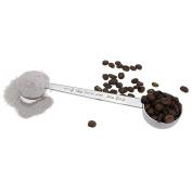BIGSUNNY Deluxe Dual Coffee Measuring Spoon, Stainless Steel 18/10 Coffee Scoop, 1 tbsp and 2 tbsp