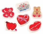 DDI 1939483 Happy Valentines Day Plastic Puffy Stickers