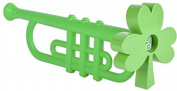 DDI 1939762 Saint Patricks Day 33cm . Shamrock Trumpet