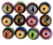 DDI 1895872 Assorted Eye Hi Bounce Balls
