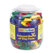 Colossal Barrel Of Clay Tools, 144 Cutters In 24 Designs, Five Tools In Each By