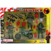 18PC FREEDOM FORCE ACTION FIGURE SET IN WINDOW BOX