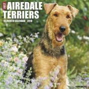 Just Airedale Terriers 2018 Wall Calendar
