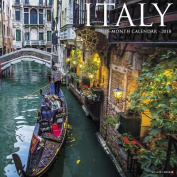 Italy 2018 Wall Calendar