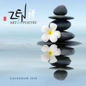 Zen Art & Poetry Wall Calendar 2018