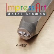 ImpressArt, Metal Jewellery Design Stamp, Flourish D, 6mm