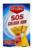 Dylon S.O.S Colour Run Powder with PH Balanced Colour Safe Formula, Removes Stains, Restores Original Colours, Easy to Use, Pack of 6
