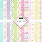 Scrapbook Customs Themed Paper Scrapbook Kit, Easter