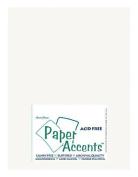 Accent Design Paper Accents ADP8511-250.401 ADPaperLinen8511BrightWhite Cdstk Linen 8.5x11 80# Bright White Bulk