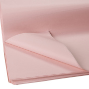 Jillson Roberts Bulk 480-Sheet Count 50cm x 80cm Recycled Tissue Available in 30 Colours, Rose Quartz