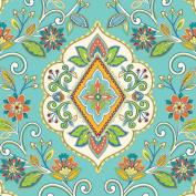 Jillson Roberts Bulk 240-Sheet Count 50cm x 80cm Designer Printed Tissue, Floral Tapestry