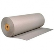 The Packaging Wholesalers 120cm 60# Grey Bogus Kraft Paper Roll
