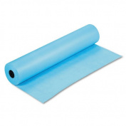 Pacon Rainbow Duo-Finish Coloured Kraft Paper, 16kg., 90cm x 300m, Sky Blue