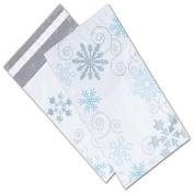 Winter Wonderland Poly Mailers, 15cm x 23cm + 5.1cm Flap