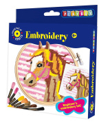 Playbox Embroidery Craft Set