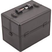 Craft Accents 3 Tiers Scrapbooking Sewing Storage Organiser Case, Black