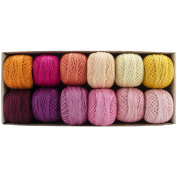 Perle Cotton Size 12 Designer Collection - Delicious Ice Cream