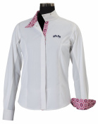 Equine Couture Girl's Kelsey Show Shirt Long Sleeve