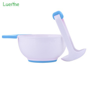 Luerme Masher and Grinding Bowl for Making Homemade Vegetable Fruit Juice Baby Food