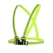 Reflective High Visibility Belt Vest for Running Cycling Dog Walking Jogging Sports Gear Adults Children Safety Vest