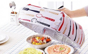 JJMG Set of 2 Foldable Insulated Food Cover with Aluminium Foil Winter Table Hot Food Insulation Cover Dish