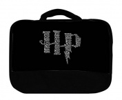HP Magic Wizardry Spells Design Print Image Canvas Lunch Bag by Trendy Accessories