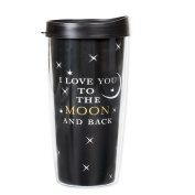 Love You to the Moon and Back 470ml Tumbler Mug with Lid