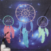 Binmer(TM) Beach Cover Square India Bohemian Hippie Tapestry Beach Throw Dreamcatcher Towel Yoga Mat
