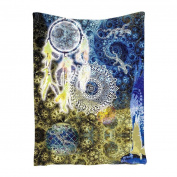 Binmer(TM) Dreamcatcher Tribal Printed Tapestry Wall Hanging Throw Beach Cover Up Bikini Blanket Table Cloth Yoga Mat