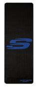 "Skechers Sport Focus Series Sweat Resistant 4.5mm Thick Textured Non Slip Style Print PVC Yoga Mat, Blue, 68"" x 24"""