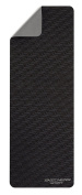 """Skechers Sport Focus Series Sweat Resistant 5mm Extra Thick Textured Non Slip Grey Style Print Type Yoga Mat, Grey, 68"""" x 24"""""""