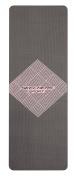 Skechers Sport Premium Focus Series 6mm Thick Textured Non Slip Style Print PVC Yoga Mat, Pink