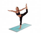 Skechers Sport Focus Series Textured Style Micro Fibre Yoga Mat Hand Towel, Teal