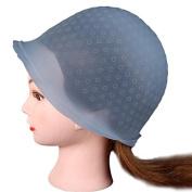 Highlight Cap, Ularma Professional Salon Reusable Hair Colouring Highlighting Dye Hat with Hook