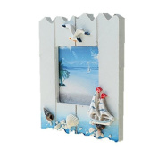 Solid Wood Siamese Three Hanging Frame Combination Wall Creative Children Photo Frame