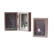Photo Frame Wood Table Desktop Home Decoration Creative Stereo Vertical Section Couples