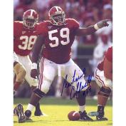 NCAA Alabama Crimson Tide Antoine Caldwell Pointing at the Line Photograph, 15cm x 50cm