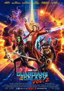 Guardians of the Galaxy Vol 2 Poster Borderless Vibrant Premium Movie Poster Various Sizes