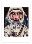 Art-Poster - 50 x 70 cm - Astronaut woman by mayka ienova