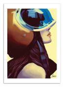 Art-Poster - 50 x 70 cm - helmetraus by Mayka Ienova