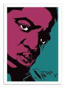 Art-Poster - 50 x 70 cm - Notorious BIG - Pop portrait, graphic design