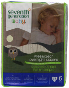 Seventh Generation Baby Overnight Nappies Stage 6