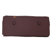 Cot bumper for the Leander Cot Bed Baby Cot Bumper Warm Purple